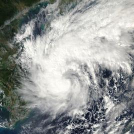 台风麦德姆