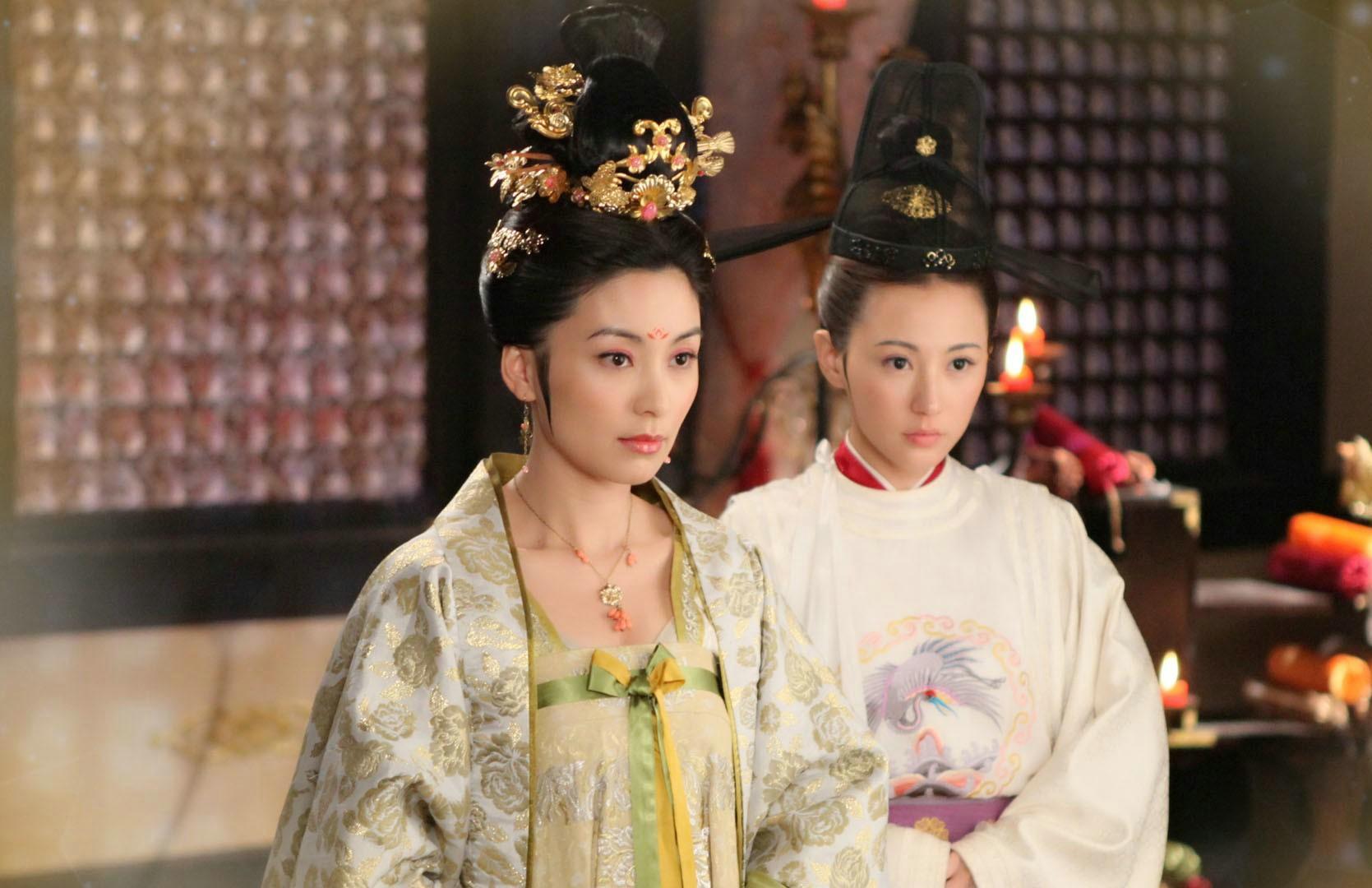 安乐公主�9c��f_历史上的女人:毒死父皇李显的忤逆女安乐公主