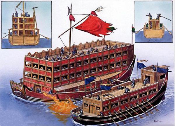 船拒载中国人_航母下水:可能你都不记得了,中国人曾是世界上最会造船的民族
