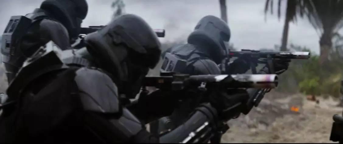 死亡帝国_帝国死亡士兵在斯卡里夫的海滩战斗.