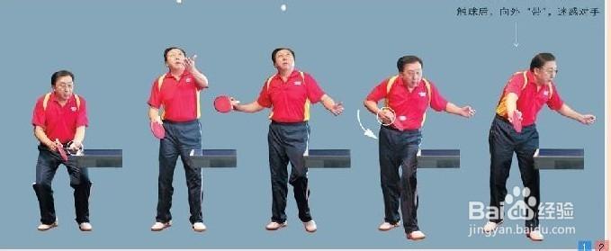 乒乓球总结图片发球门球守门的球杆技术图片