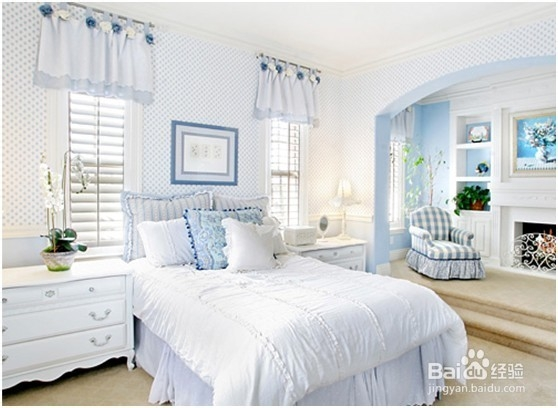 2014居家卧室装修清新田园风格效果图赏析