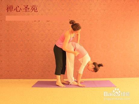 瑜伽体式矫正之站立后弯图片