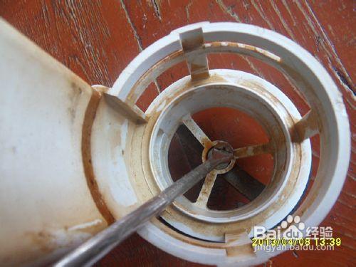 马桶出水阀装卸方法@张志晨百炼经验50图片