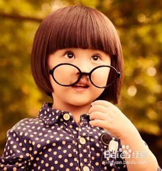 女宝宝的漂亮发型图片