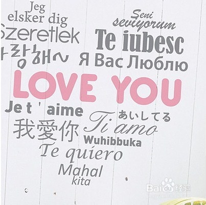 语我爱你_2014情人节:[9]我爱你的各种语言