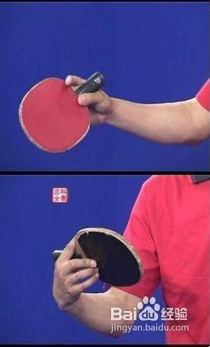乒乓球错误握法中有效纠正直拍攻球科技正手动作小发明热气球制作方法图片