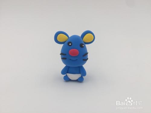 罗弗超轻粘土手工教程系列——十二生肖——鼠图片