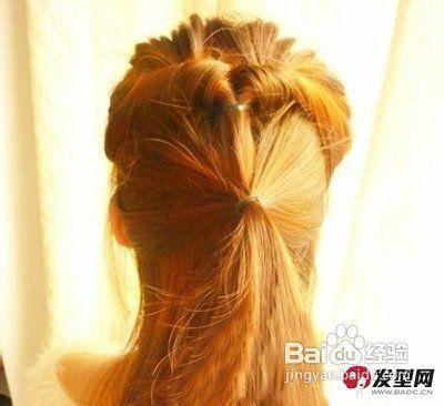 韩式发型扎法 高贵淑女挡不住图片