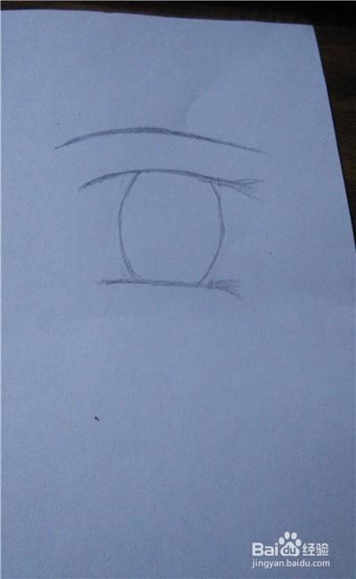 简单的动漫人物眼睛怎么画(2)图片