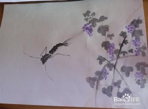 怎样使用水彩笔画好简单画图片