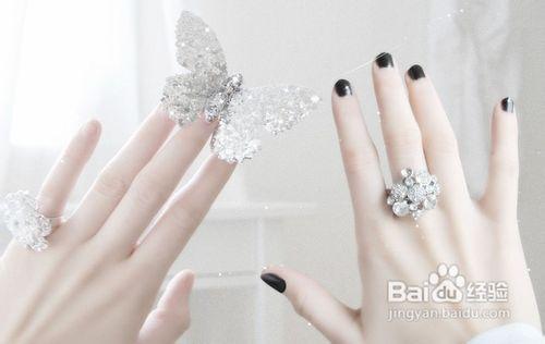 """求,订,婚,离""""五个字说明将戒指分别戴在5个手指上的含义和暗示.图片"""