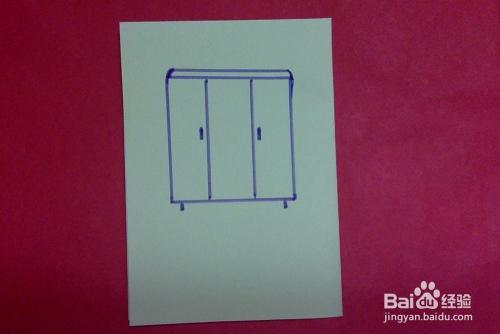 简笔画怎样画大衣柜的画法幼儿兴趣培养学画家具图片