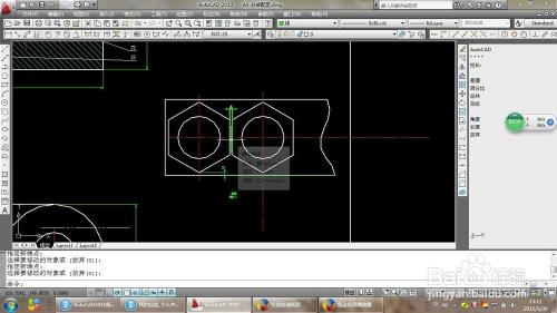 将CAD图中的线条随意拉缩?2007cada4图框新建图片