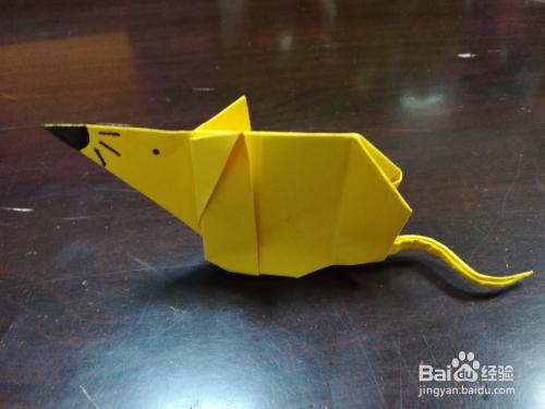 十二生肖折纸:小老鼠的折法图片