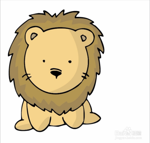 狮子座专属头像设计图片