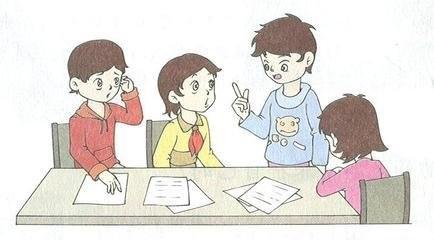 小组合作卡通囹�a_小组合作有效性的探讨