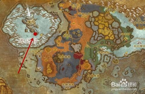 游戏/数码 游戏 > 网络游戏  1 首先,该蛇位于魔兽世界的诺森德地图