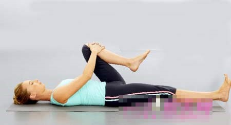 瑜伽提臀的臀部体式,瘦瘦腿的瑜伽动作?瘦臀的动图片