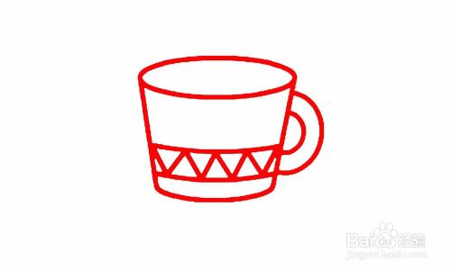 简笔画水杯怎么画-百度经验图片