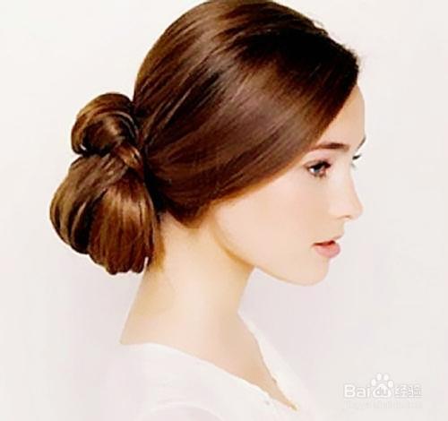 发型:现代盘发发型与古典盘发发型图片