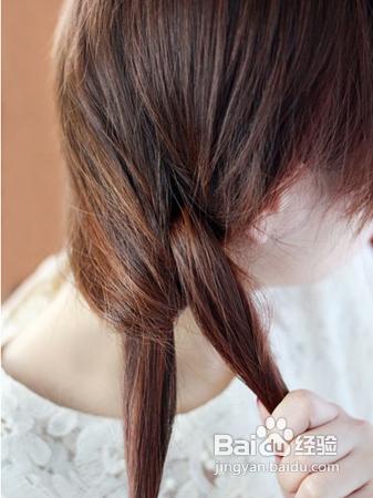 韩式编发发型盘发教程最新森女盘发发型图解