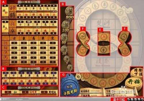 游戏/数码 游戏 > 电竞/单机  1 吃棋规则 2 接口说明 a. 组合区 b.