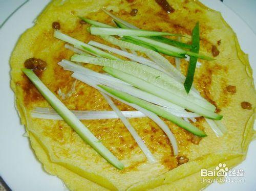 【中式面点】营养早餐---双味玉米煎饼图片