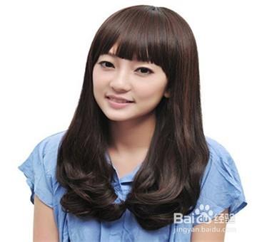女生显脸瘦的潮流发型图片