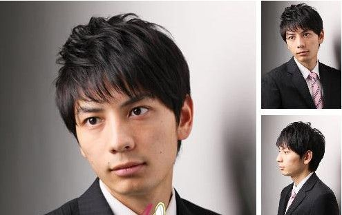男士造型视频_职场帅气男士发型西装男最爱造型