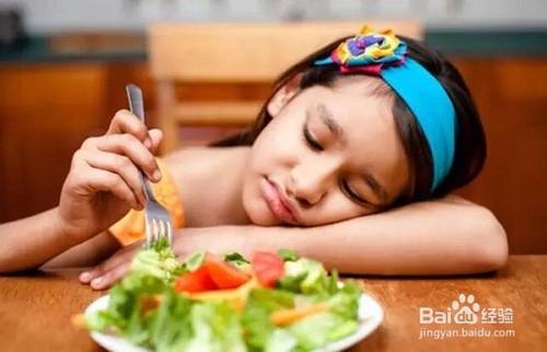 小孩不爱吃饭怎么办图片