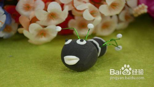 怎样制作软陶玩偶之蚂蚁图片