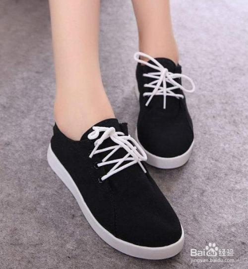 花式系鞋带方法图片