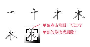 怎样在word中分解文字笔画图片