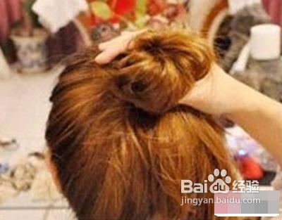 diy个性丸子头简单丸子头发型扎法教程图片