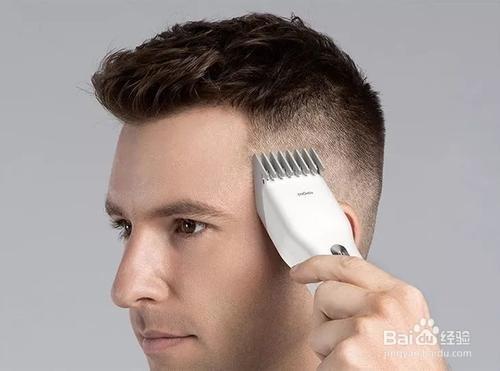 男士剪发教程图解图片