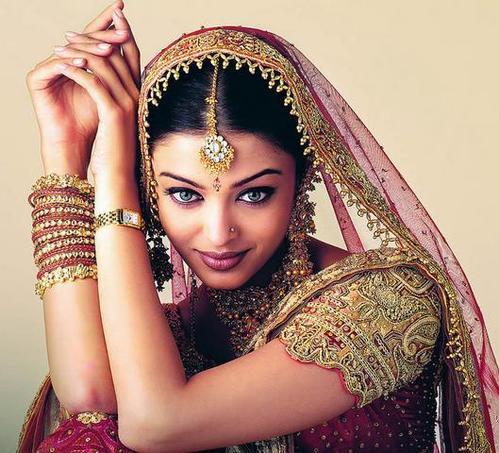 怎样化一个印度妆