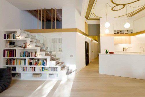 生活/家居 家具装修 > 装修  2 既能储物又能收纳才是楼梯的最大用处