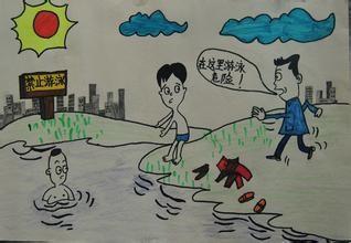 小学生如何预防溺水图片