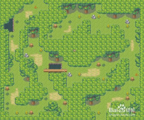 张永的地图教程2如何绘制森林迷宫图片