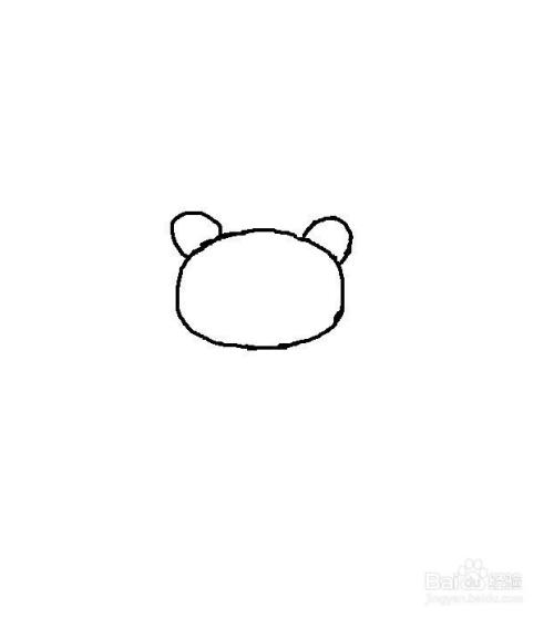 怎么画熊猫简笔画图片