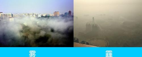 如何区别雾和霾