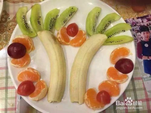 趣味水果拼盘,让家里的小宝贝爱上吃水果图片