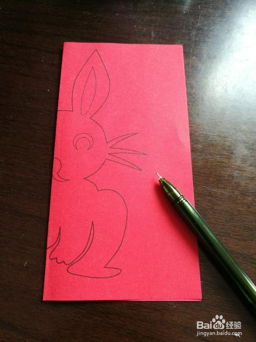儿童趣味剪纸:十二生肖兔子图片