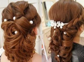 如何选择适合自己的新娘发型图片