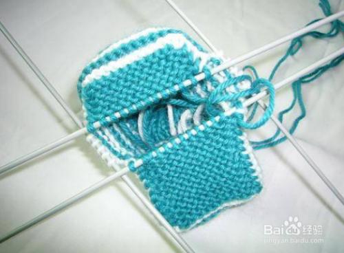 链接毛线鞋编织婴儿视频视频教程怎么图片