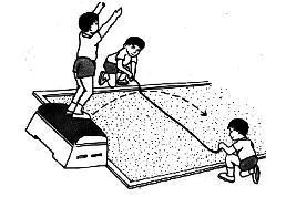 【田徑】圖解跳遠動作之立定跳遠