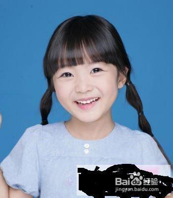 小女孩发型绑扎方法 儿童发型六一节日更可爱