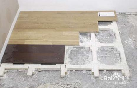 天龙骨实铺式木地板的施工工艺流程