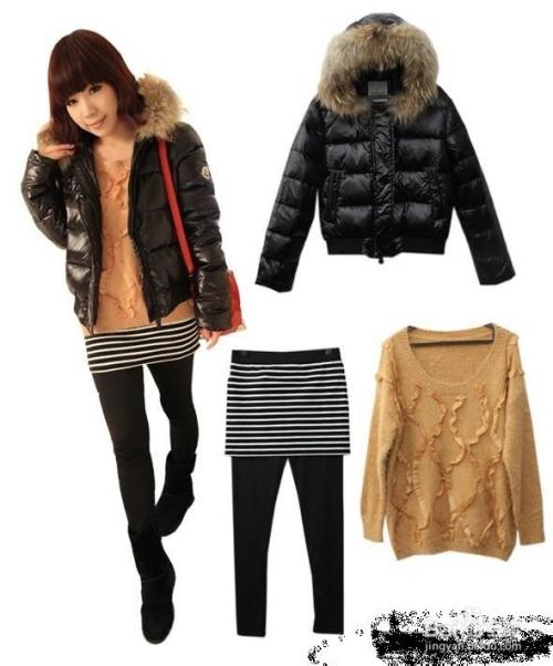 冬天怎么搭配衣服_冬季衣服搭配图片